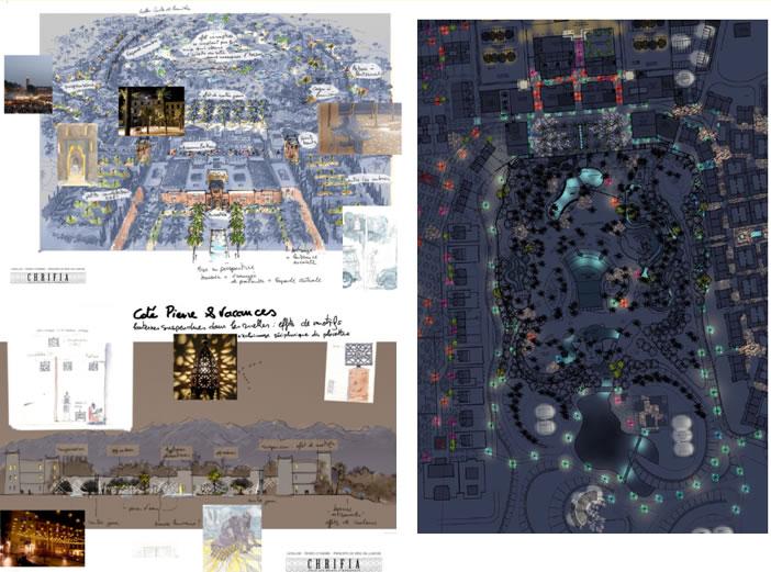 Concepteur lumière d'un complexe touristique et résidentiel